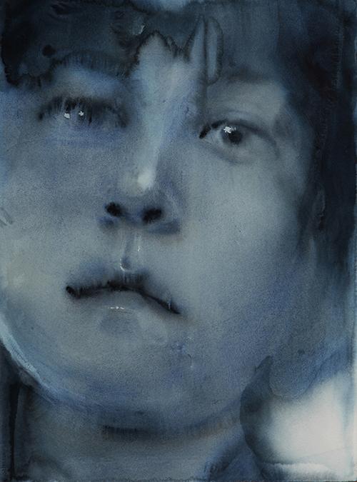 (11) 人物系列-1, 2013, 56x76cm 纸本水彩