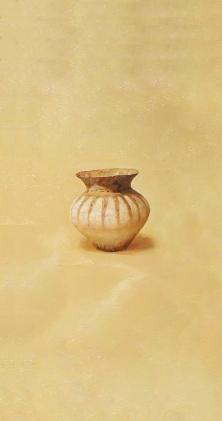〈陶韵 1   Charm der Keramik 1, 2013〉 赵永梅 Yongmei ZHAO, 布面油画 Öl auf Leinwand, 80x40cm