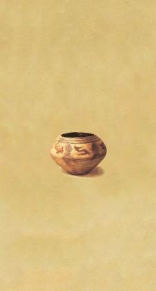 〈陶韵 4 | Charm der Keramik 1, 2014〉 赵永梅 Yongmei ZHAO, 布面油画 Öl auf Leinwand, 100x60cm