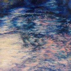 〈大河流淌 5|Der fließende Fluss 5, 2011〉 孙尧 Yao SUN, 布面油彩 Öl auf Leinwand, 200 x 200 cm