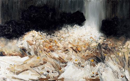 〈景|Die Landschaft〉 张子康 Zikang ZHANG, 布面油画 / Öl auf Leinwand, 2016, 100 x 200 (cm)