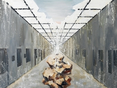 〈欲望|Die Sehnsucht〉 张子康 Zikang ZHANG, 布面油画 / Öl auf Leinwand, 2016, 150 x 200 (cm)