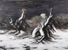 〈死亡与再生|Tod und Regeneration〉 张子康 Zikang ZHANG, 布面油画 / Öl auf Leinwand, 2015, 150 x 200 (cm)