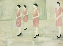 〈 Nr. 36 〉 陈琇源 Xiuyuan CHEN, 丙烯木板 / Acrylfarbe auf Holz, 30 x 40 (cm), 2014