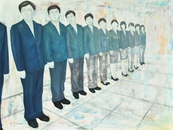 〈 Nr. 50 〉 陈琇源 Xiuyuan CHEN, 油彩、丙烯、画布 / Ölfarbe u. Acrylfarbe auf Leinwand, 160 x 120 (cm), 2015