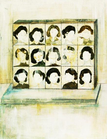 〈 Nr. 27 〉 陈琇源 Xiuyuan CHEN, 丙烯木板 / Acrylfarbe auf Holz, 28 x 20 (cm), 2014